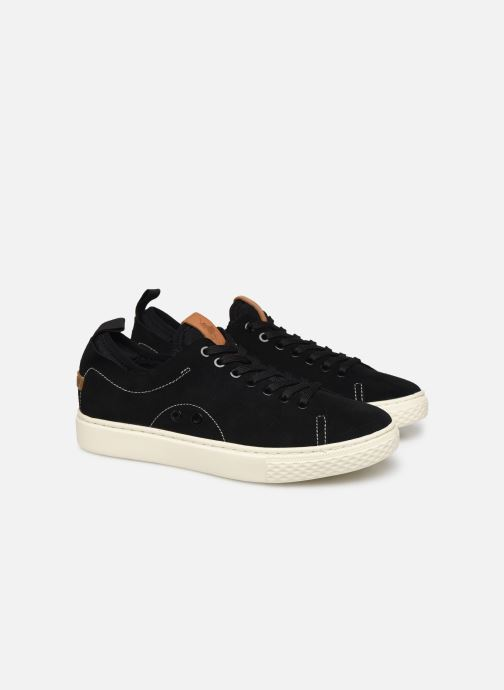 Sneakers Polo Ralph Lauren Dunovin-Small Sport Grain Nero immagine 3/4