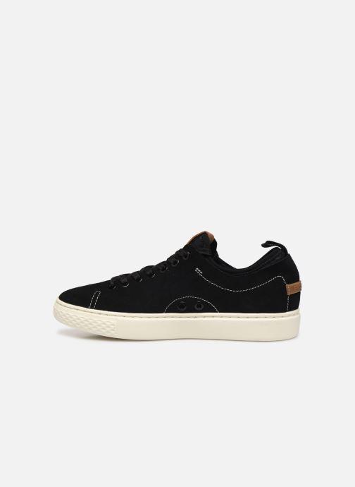 Sneakers Polo Ralph Lauren Dunovin-Small Sport Grain Nero immagine frontale