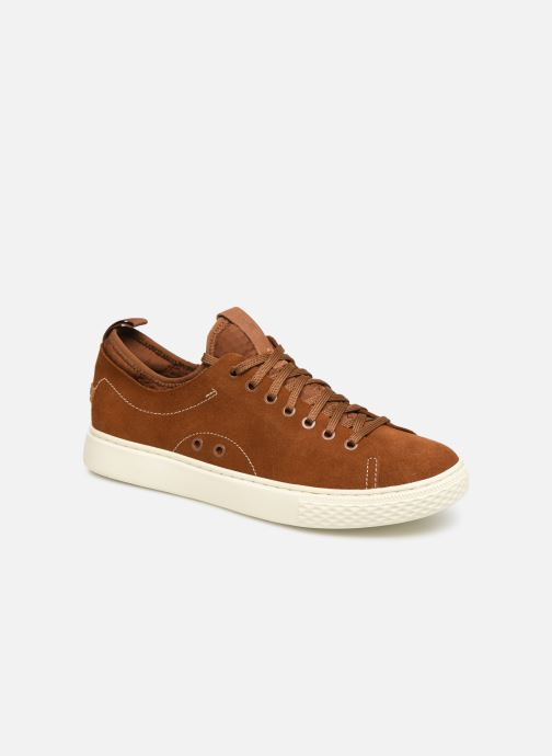 Baskets Polo Ralph Lauren Dunovin-Suede Marron vue détail/paire