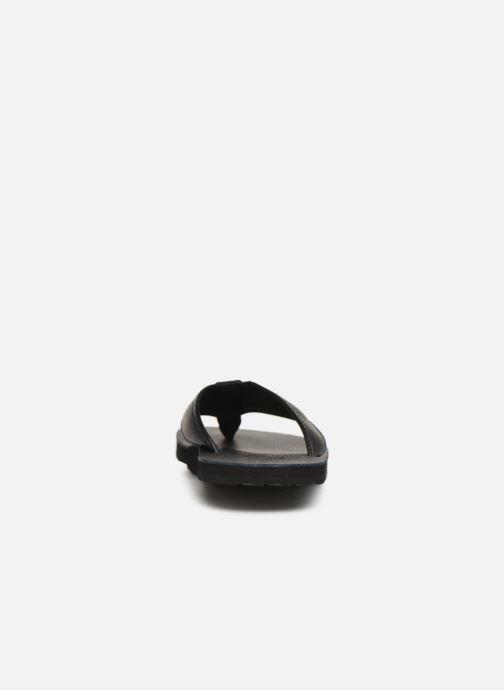 Tongs Polo Ralph Lauren Sullivan III Tumbled Leather Noir vue droite