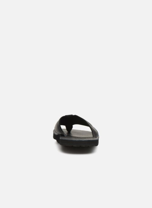 Flip flops Polo Ralph Lauren Sullivan III Tumbled Leather Black view from the right