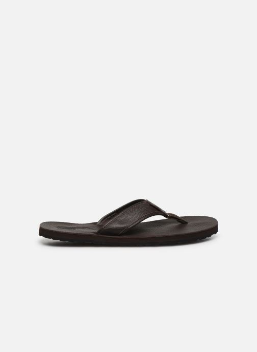 Polo Ralph Lauren Sullivan Iii Tumbled Leather (marron) - Tongs Marron (dark Brown) dEHuD3BL