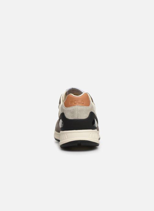 Baskets Polo Ralph Lauren Train 100 CLS-Nylon/Suede Gris vue droite