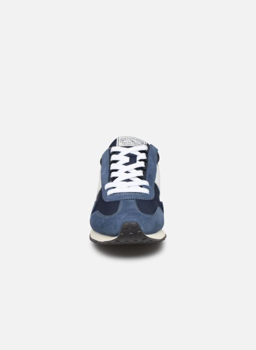 Trainers Polo Ralph Lauren Train 90 -PP Suede Blue model view