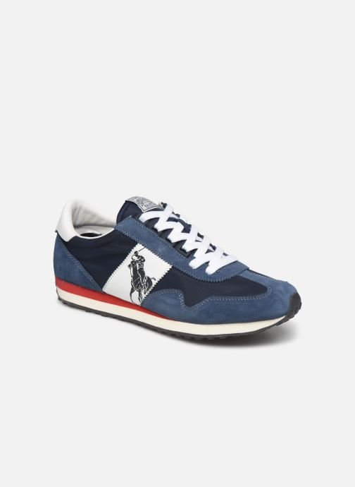 Trainers Polo Ralph Lauren Train 90 -PP Suede Blue detailed view/ Pair view