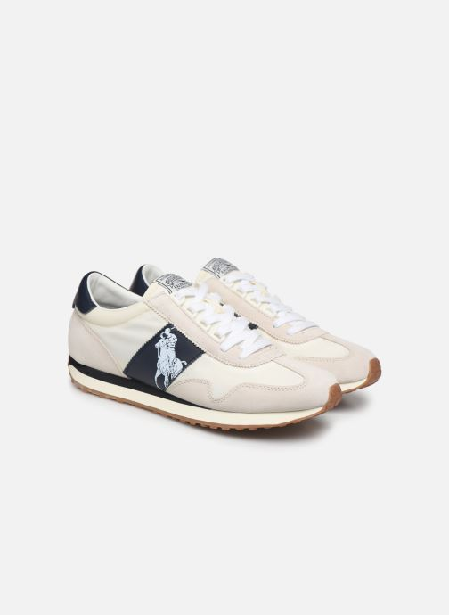 Trainers Polo Ralph Lauren Train 90 -PP Suede White 3/4 view