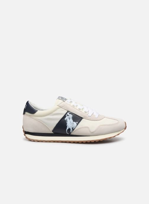 Baskets Polo Ralph Lauren Train 90 -PP Suede Blanc vue derrière