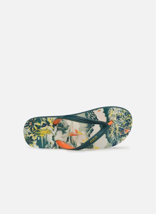Zehensandalen Polo Ralph Lauren Whtlbury III Eva Print mehrfarbig ansicht von links
