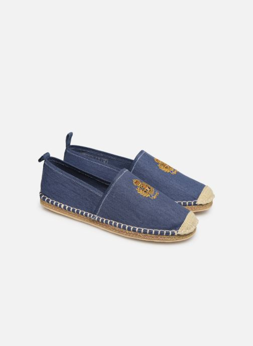 Espadrilles Polo Ralph Lauren Barron Crest-Washed Twill Wit 3/4'