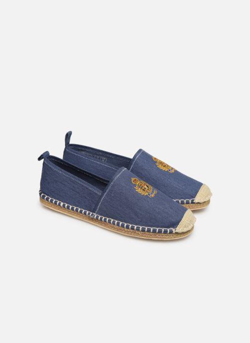 Scarpe di corda Polo Ralph Lauren Barron Crest-Washed Twill Azzurro immagine 3/4