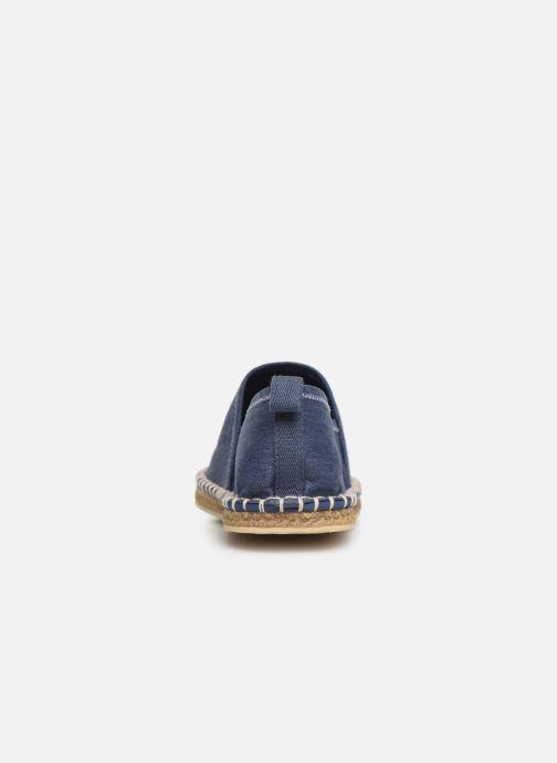 Scarpe di corda Polo Ralph Lauren Barron Crest-Washed Twill Azzurro immagine destra