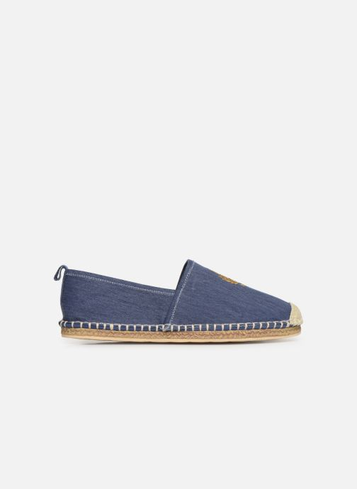 Scarpe di corda Polo Ralph Lauren Barron Crest-Washed Twill Azzurro immagine posteriore