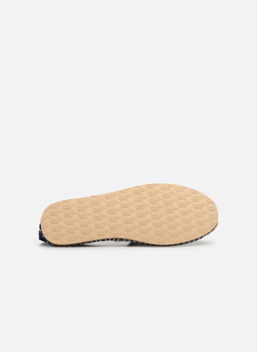Espadrilles Polo Ralph Lauren Barron Crest-Washed Twill Blanc vue haut