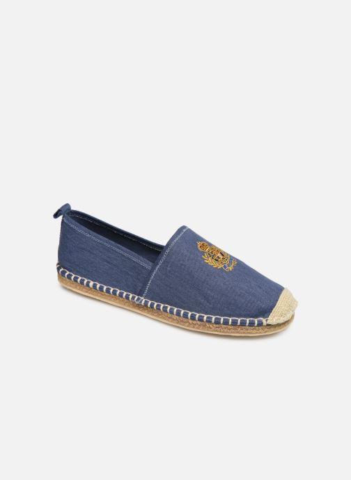 Espadrillos Polo Ralph Lauren Barron Crest-Washed Twill Blå detaljeret billede af skoene