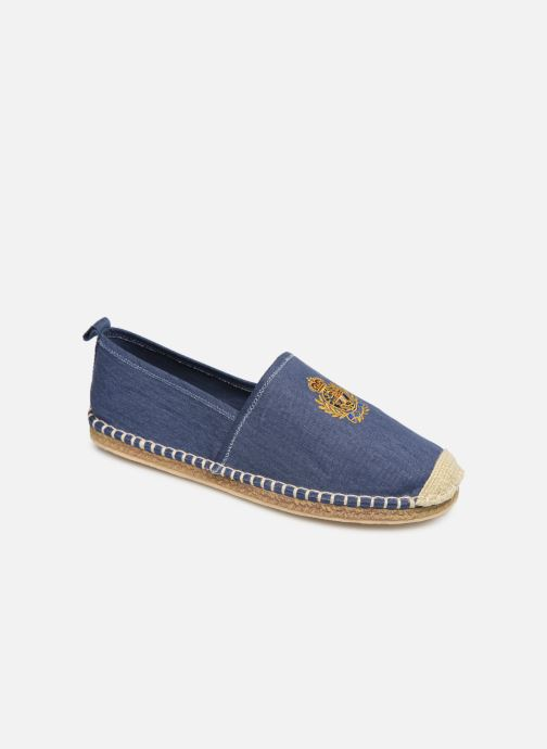 Scarpe di corda Polo Ralph Lauren Barron Crest-Washed Twill Azzurro vedi dettaglio/paio