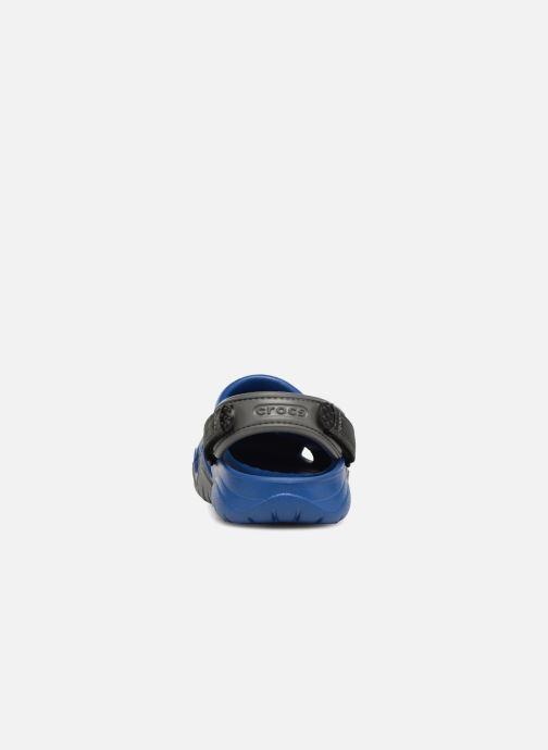 Sandales et nu-pieds Crocs Swiftwater Clog M Bleu vue droite