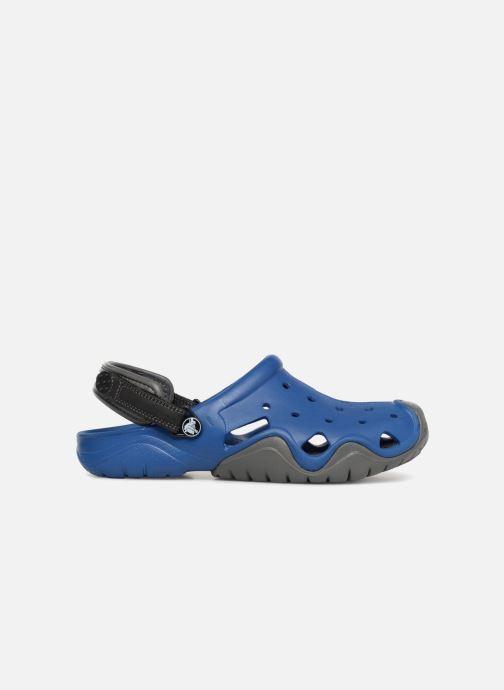 Sandales et nu-pieds Crocs Swiftwater Clog M Bleu vue derrière