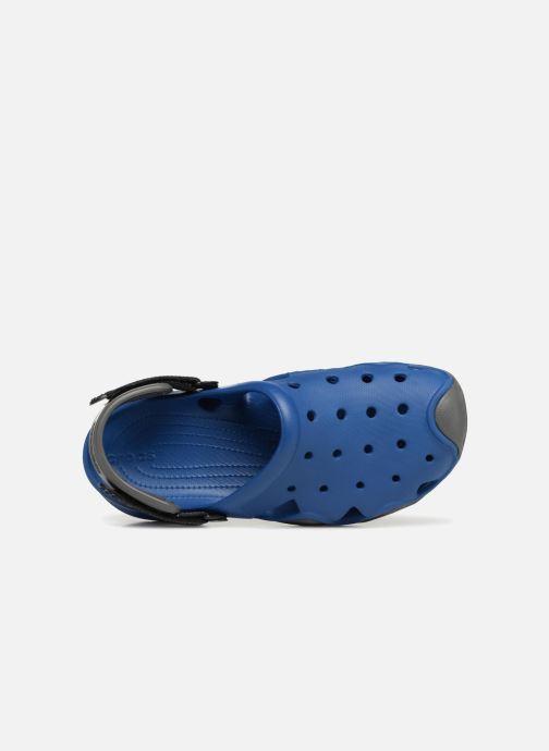 Sandales et nu-pieds Crocs Swiftwater Clog M Bleu vue gauche