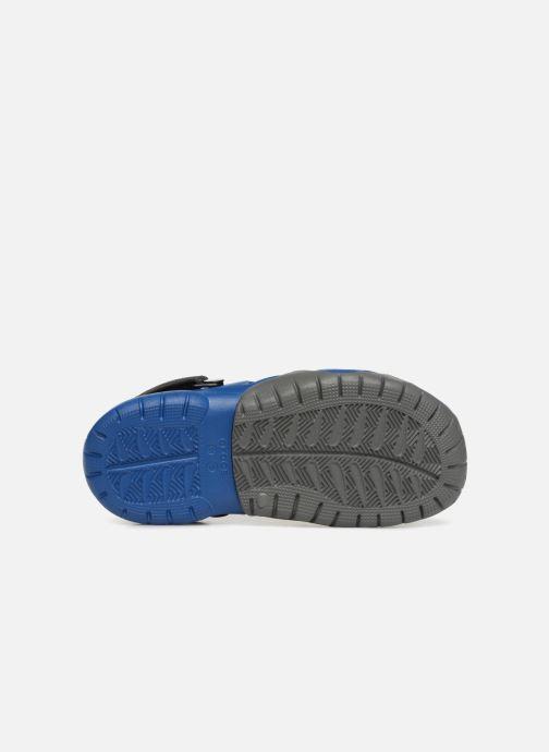 Sandales et nu-pieds Crocs Swiftwater Clog M Bleu vue haut