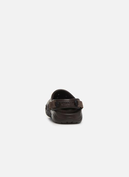 Sandales et nu-pieds Crocs Swiftwater Clog M Marron vue droite