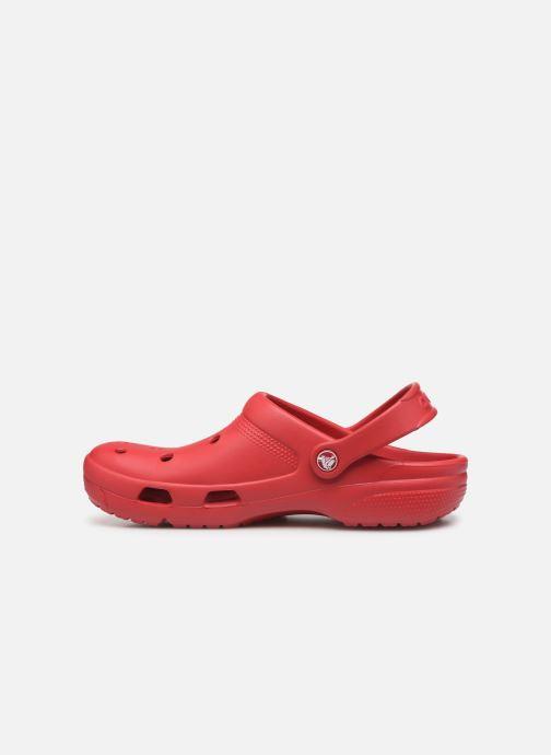 Sandales et nu-pieds Crocs Crocs Coast Clog Rouge vue face