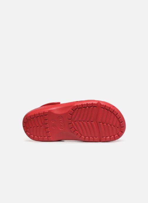 Sandales et nu-pieds Crocs Crocs Coast Clog Rouge vue haut