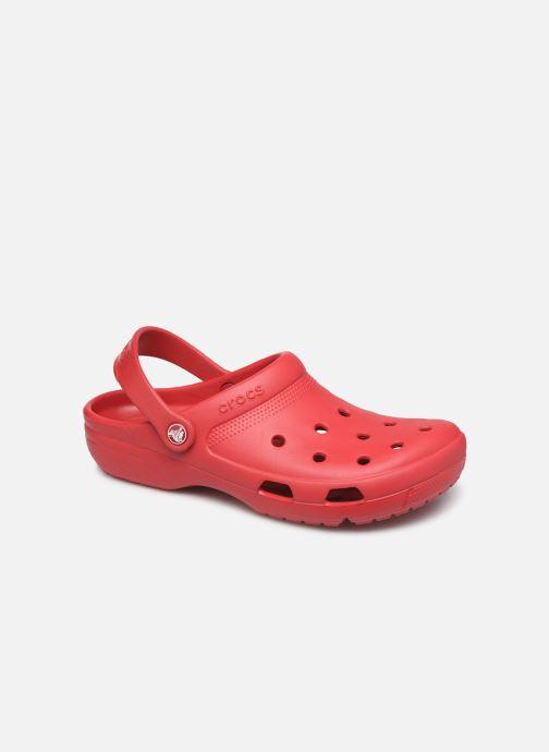 Sandals Crocs Crocs Coast Clog Red detailed view/ Pair view