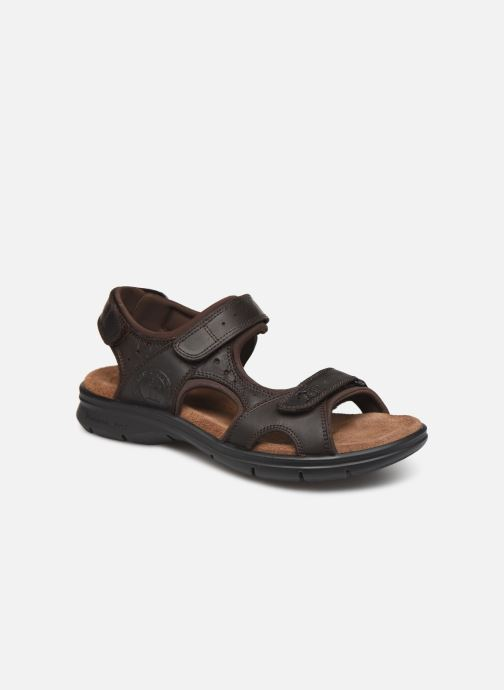 Sandales et nu-pieds Panama Jack Salton Marron vue détail/paire