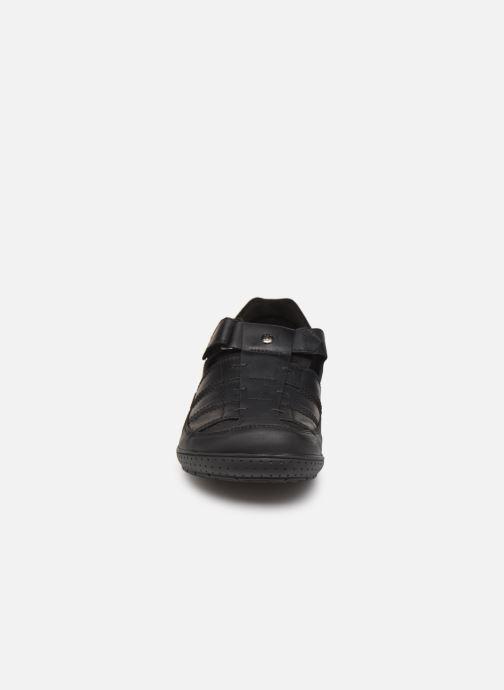 Scarpe con gli strappi Panama Jack Meridian Nero modello indossato