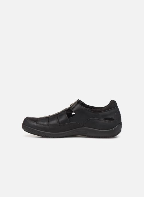 Chaussures à scratch Panama Jack Meridian Noir vue face