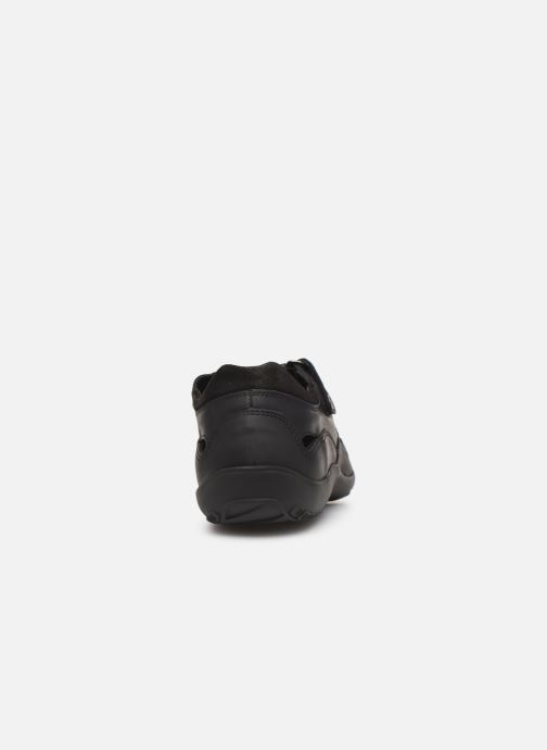 Chaussures à scratch Panama Jack Meridian Noir vue droite
