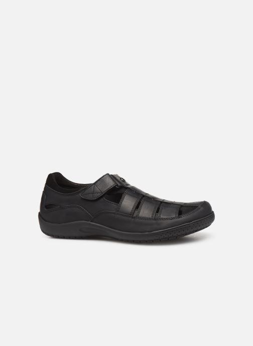 Chaussures à scratch Panama Jack Meridian Noir vue derrière
