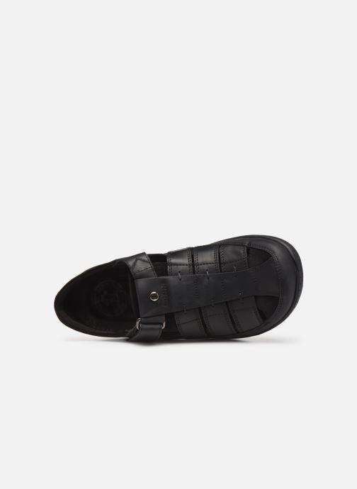 Chaussures à scratch Panama Jack Meridian Noir vue gauche
