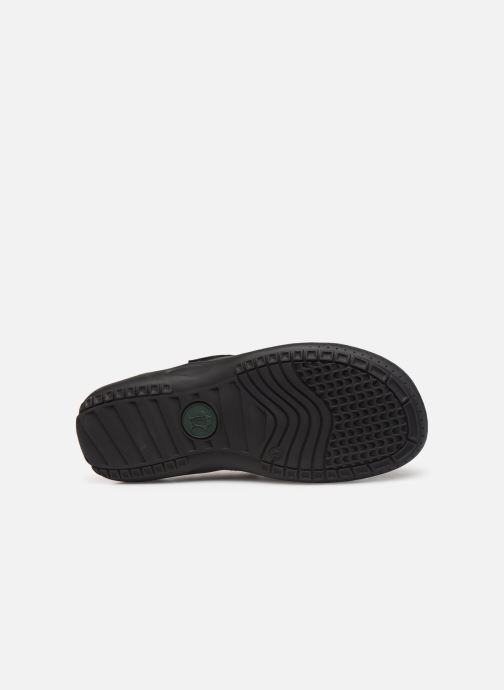 Chaussures à scratch Panama Jack Meridian Noir vue haut