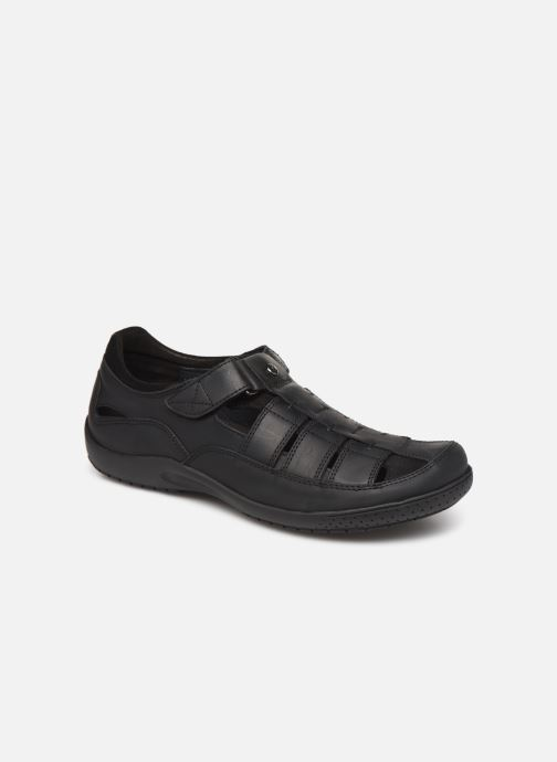 Chaussures à scratch Panama Jack Meridian Noir vue détail/paire