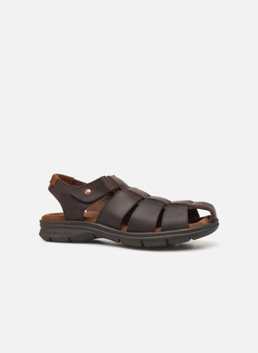 Sandales et nu-pieds Panama Jack Sauron Marron vue derrière