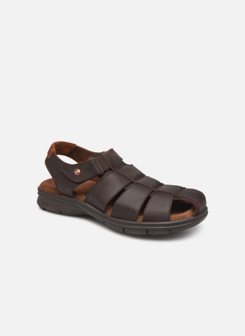 Sandales et nu-pieds Panama Jack Sauron Marron vue détail/paire