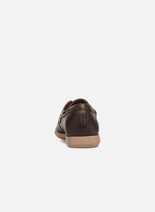 Chaussures à lacets TBS Fabiano Marron vue droite