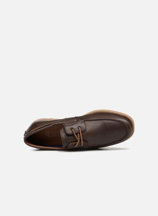 Chaussures à lacets TBS Fabiano Marron vue gauche