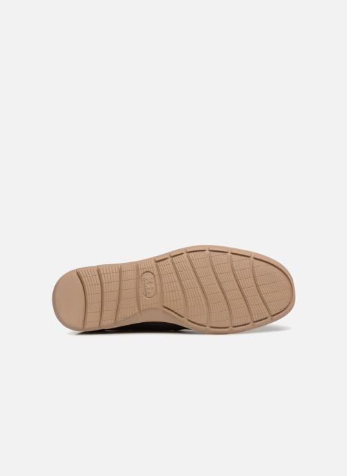 Chaussures à lacets TBS Fabiano Marron vue haut