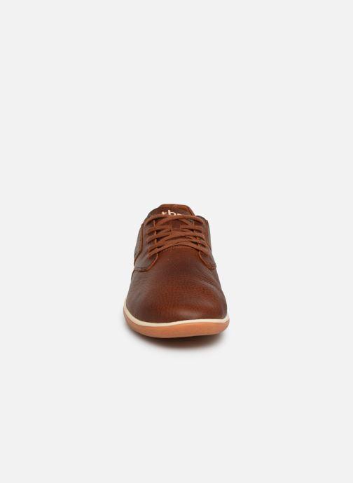 Sneaker TBS Mohatou braun schuhe getragen