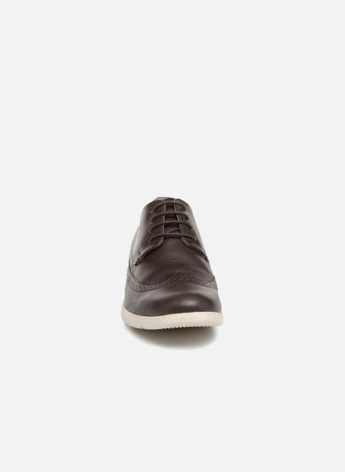 Chaussures à lacets TBS Roadmap Marron vue portées chaussures