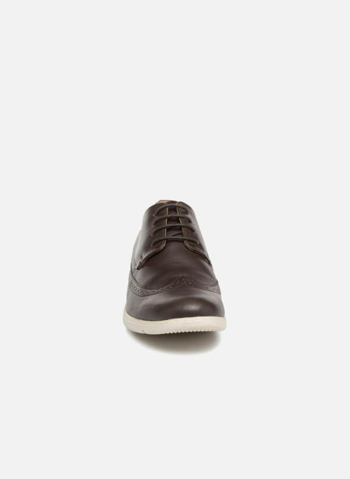 Lace-up shoes TBS Roadmap Brown model view