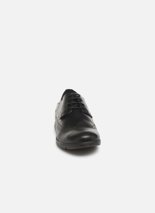 Chaussures à lacets TBS Roadmap Noir vue portées chaussures