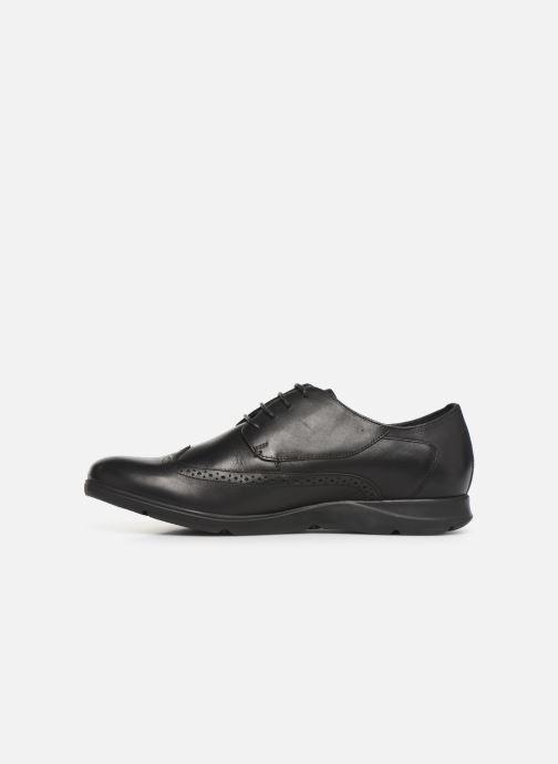 Chaussures à lacets TBS Roadmap Noir vue face