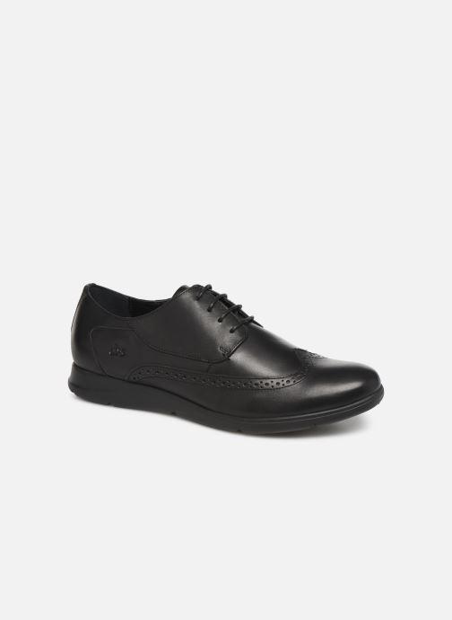 Chaussures à lacets TBS Roadmap Noir vue détail/paire