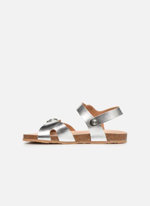 Sandales et nu-pieds Conguitos Hema Argent vue face