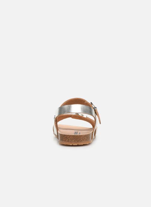 Sandales et nu-pieds Conguitos Hema Argent vue droite