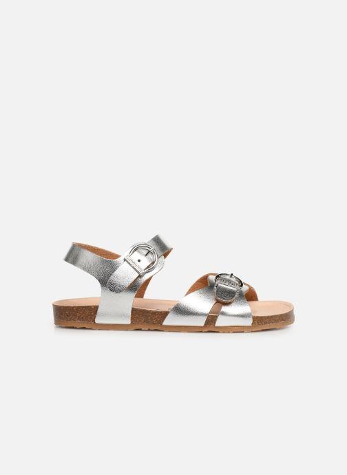 Sandales et nu-pieds Conguitos Hema Argent vue derrière