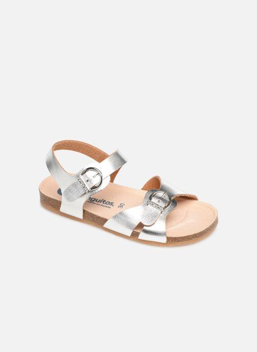Sandales et nu-pieds Conguitos Hema Argent vue détail/paire